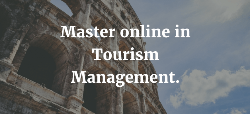 Master online in Tourism Management ad Ancona.