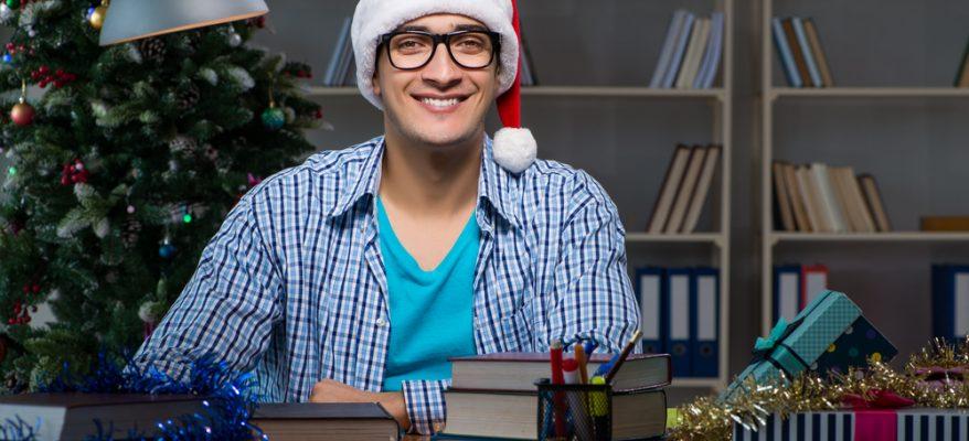studiare durante le vacanze di natale